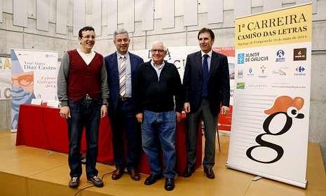 La presentación de la prueba fue en la biblioteca púbica Ánxel Casal.