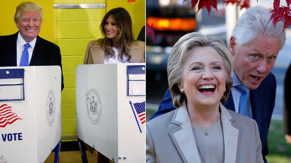 Los jóvenes americanos que viven en Galicia apuestan por Hillary.