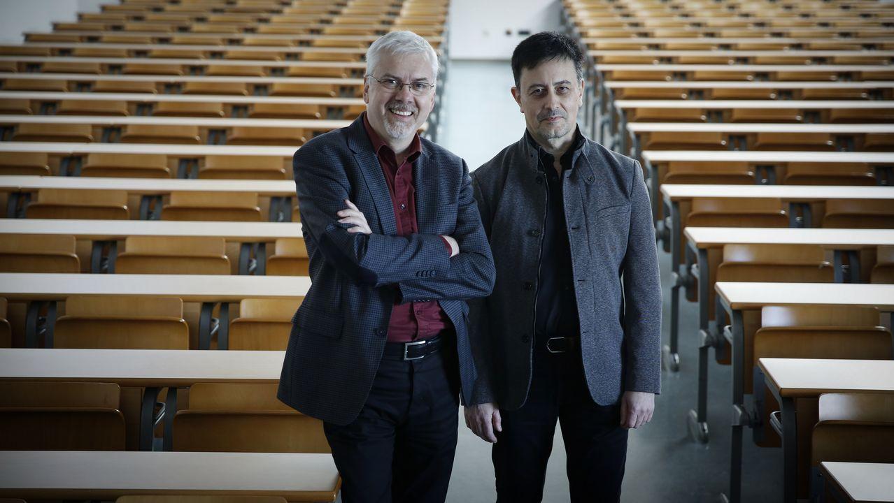 .Javier Cudeiro y Marcelo Castelo