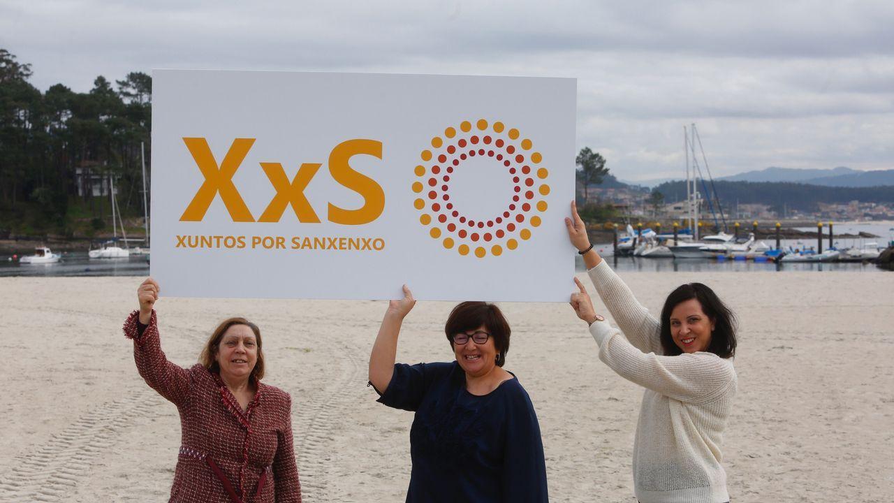 Rescate de un percebeiro que acudió en auxilio de unos buceadores en la playa de Foxos, Sanxenxo.El cantante Pablo López, en un reciente concierto que ofreció en Vigo
