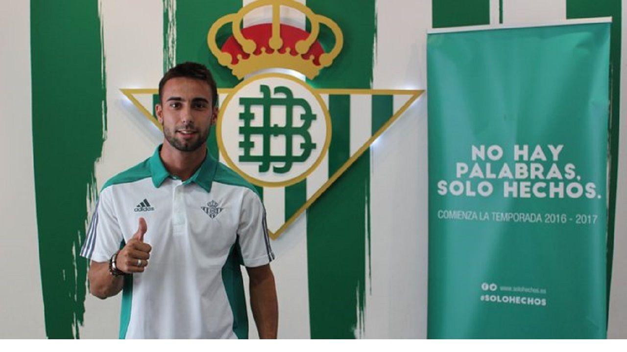 Rafa Navarro, en el Betis