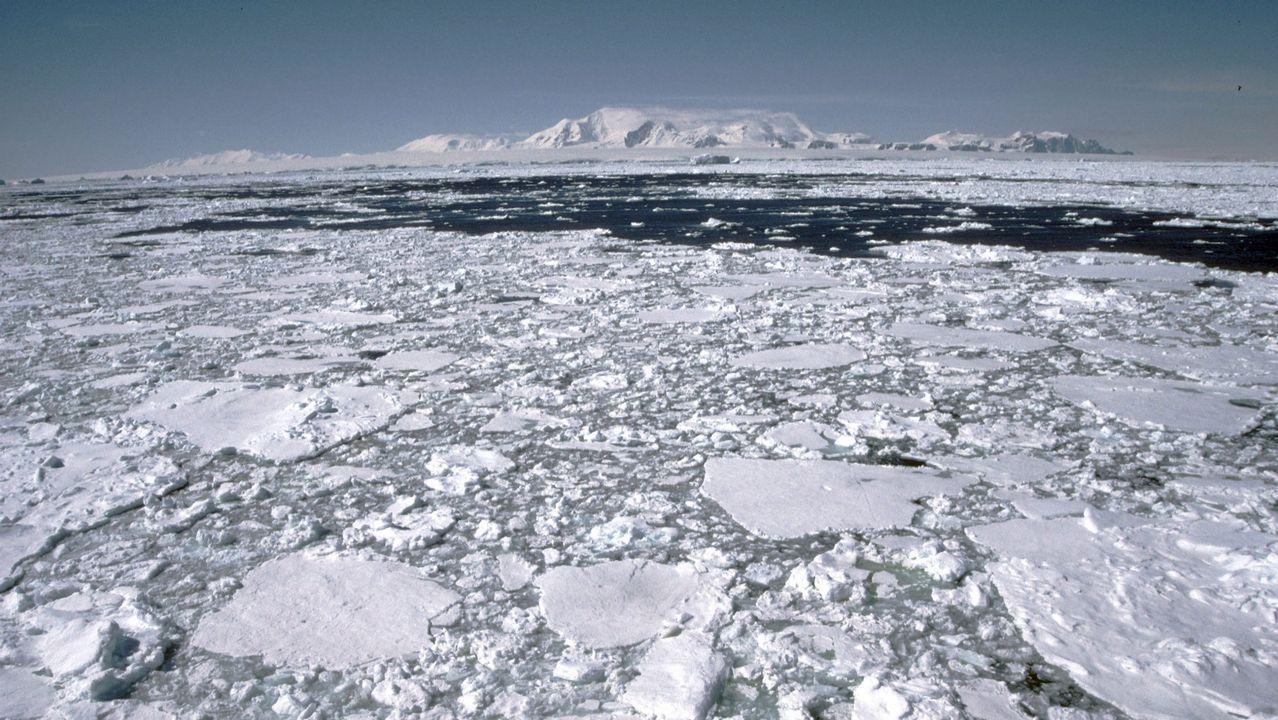 «Choivas que só poden pasar unha vez en 500 anos».El deshielo lanzará ingentes cantidades de agua dulce al océano