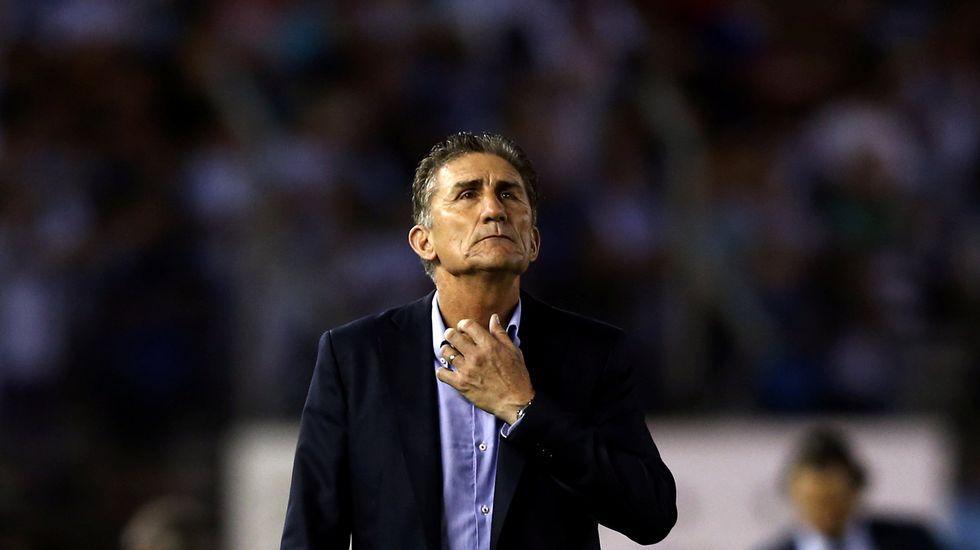 Bauza, destituido como técnico de Argentina.Adriana Lastra