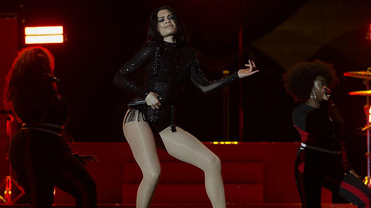 Jessie J en el escenario del Rock in Rio Lisboa 2018