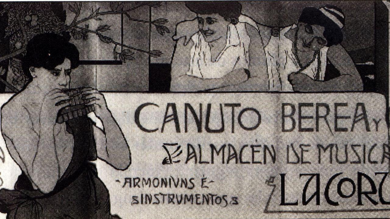 .A CORUÑA CANUTO BEREA, PARTITURAS 19991226
