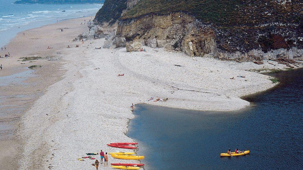 Playa de San Antolín, Llanes.Playa de San Antolín, Llanes