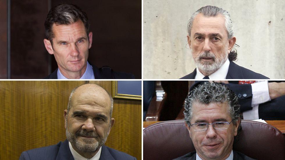 Sepúlveda niega haber recibido dinero de la trama Gürtel.Francisco Álvarez-Cascos y Rodrigo Rato
