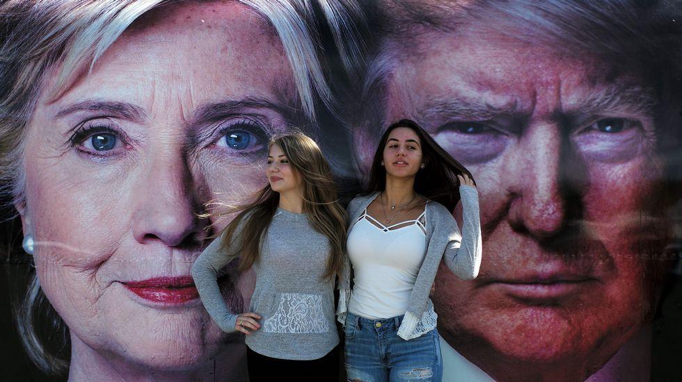Primer debate televisado entre Hillary Clinton y Donald Trump.Primer debate entre Hillary Clinton y Donald Trump