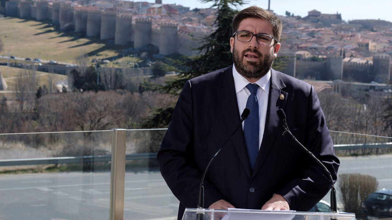 José Luis Gil, vicepresidente de la gestora de Vox en Lugo y exdelegado de UPyD