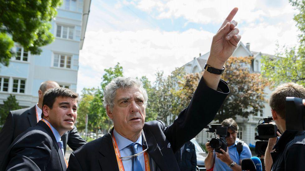 Ángel Villar, a quién la candidatura de Jorge Pérez acusa de irregularidades y de «patente carencia de neutralidad»