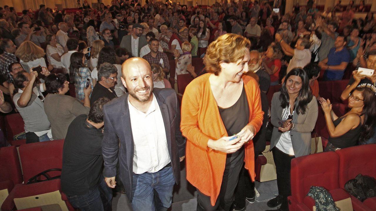 La ministra de Hacienda, María Jesús Montero, compartió este miércoles con su antecesor en el cargo, Cristóbal Montoro, un premio a su departamento por la Ley de Contratos del Sector Público