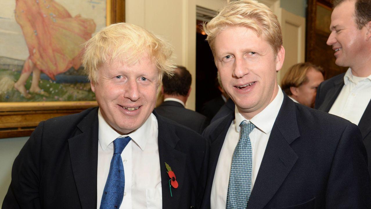 Pese a ser hermanos y estar en el mismo partido, Boris y Jo discrepan sobre la UE