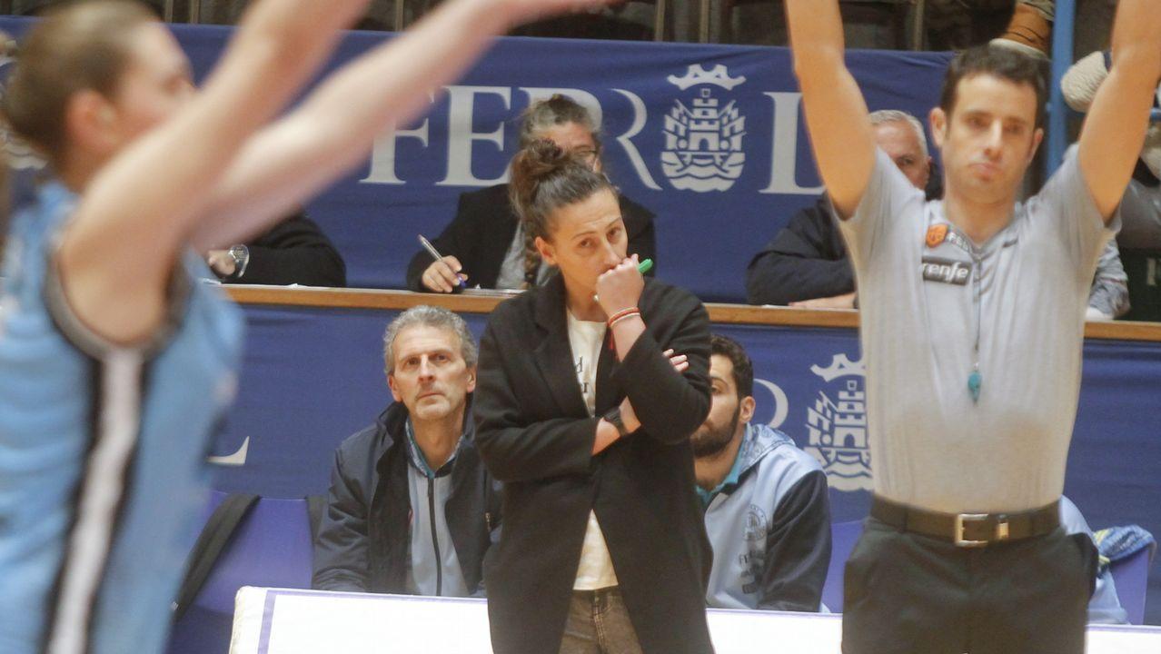 Ángela Salvadores, durante su etapa en Duke