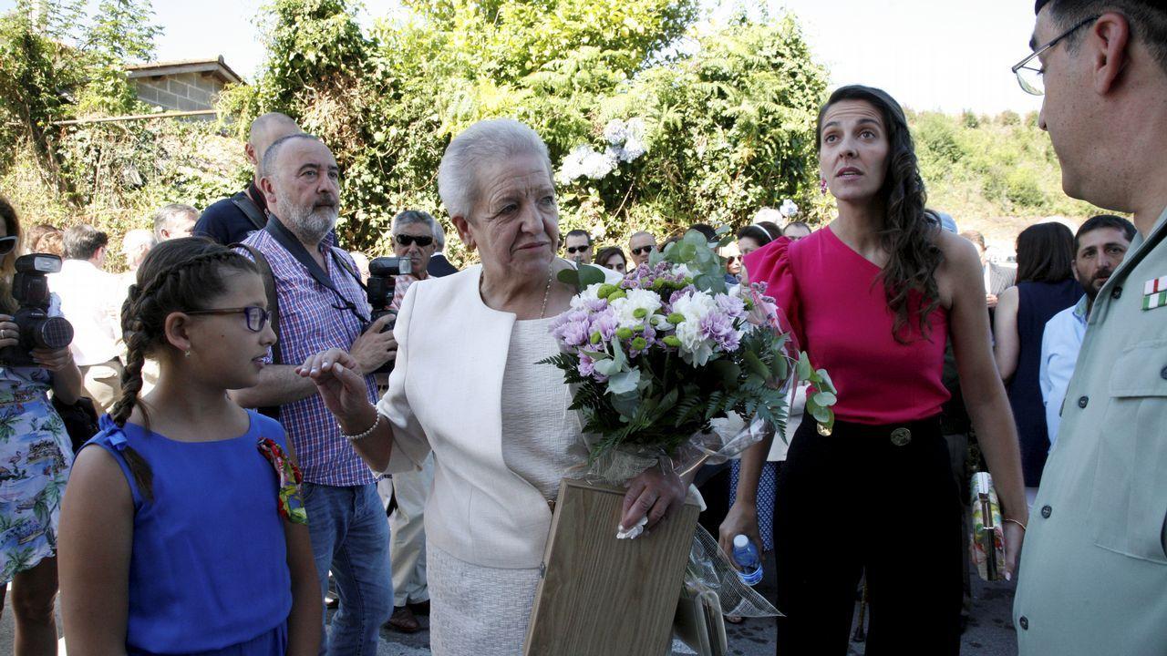 La mujer de Ramón Barral no pierde la esperanza.Detenido por incendios en Mesía y Frades