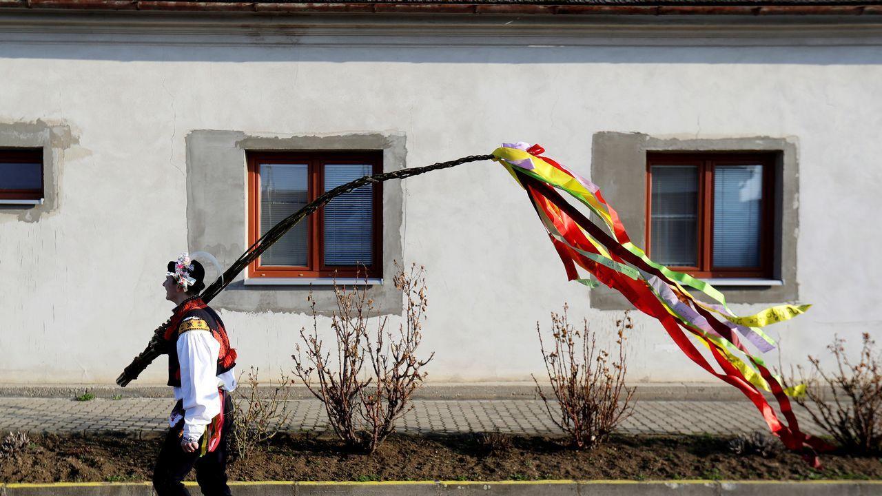 Celebración de Pascual en Stare Mesto, en la República Checa