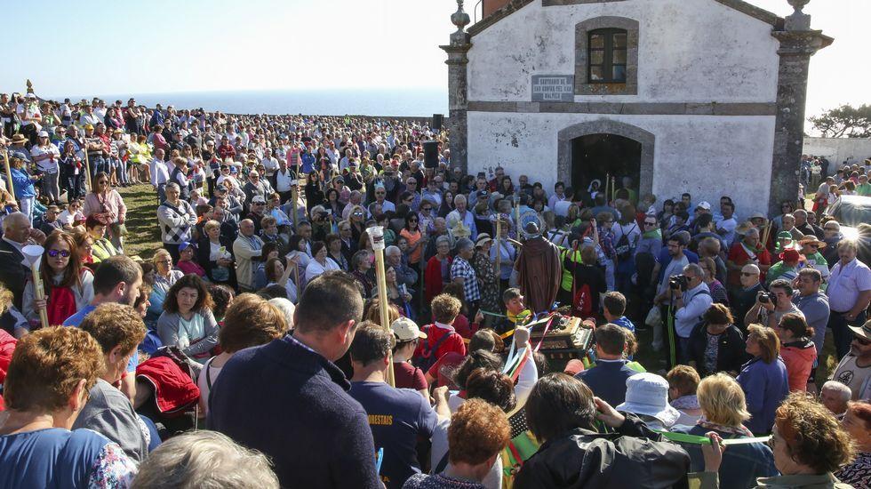¡Búscate en la multitudinaria romería de Santo Hadrián de Malpica!