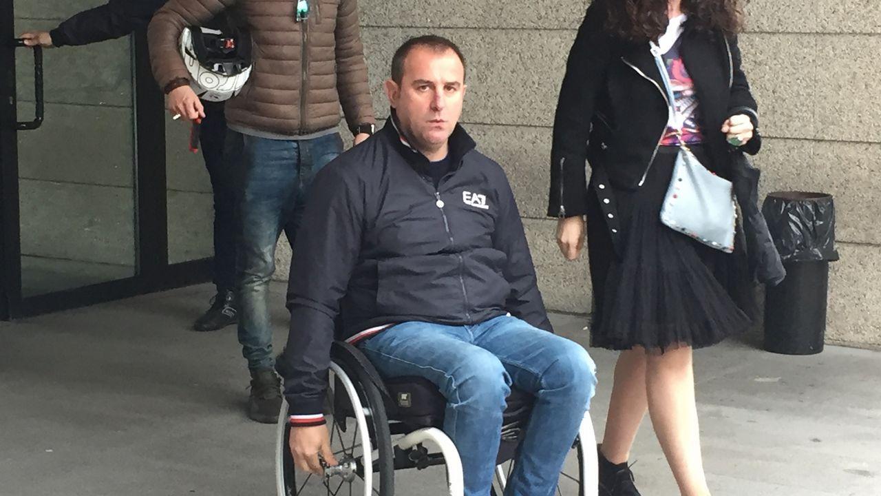 Vídeo del ciclista Diego González al salir de declarar del Juzgado en el juicio por las trampas del monte Alba.