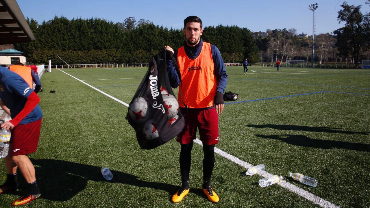 Eder Diez jugador del Pontevedra Cf