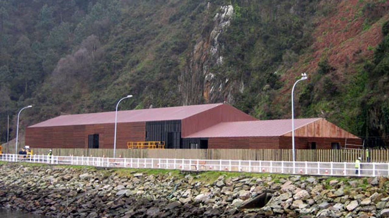 Estación Depuradora de Aguas Residuales de Cudillero