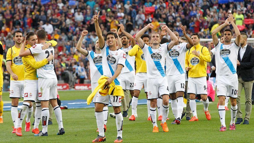 El Barcelona - Deportivo, en fotos