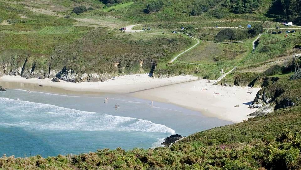 Valdoviño.Playa de Razo (Carballo)