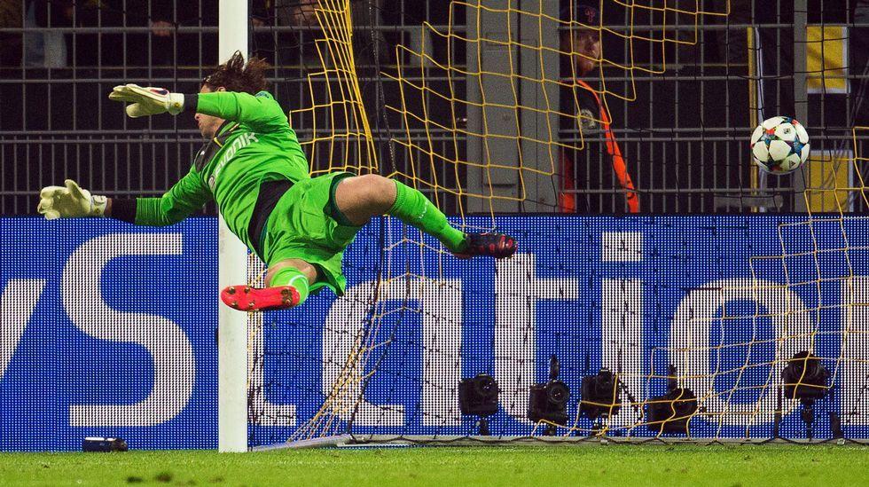 La Juventus no dio opción al Borussia en Dortmund y se metió en cuartos de la Champions.