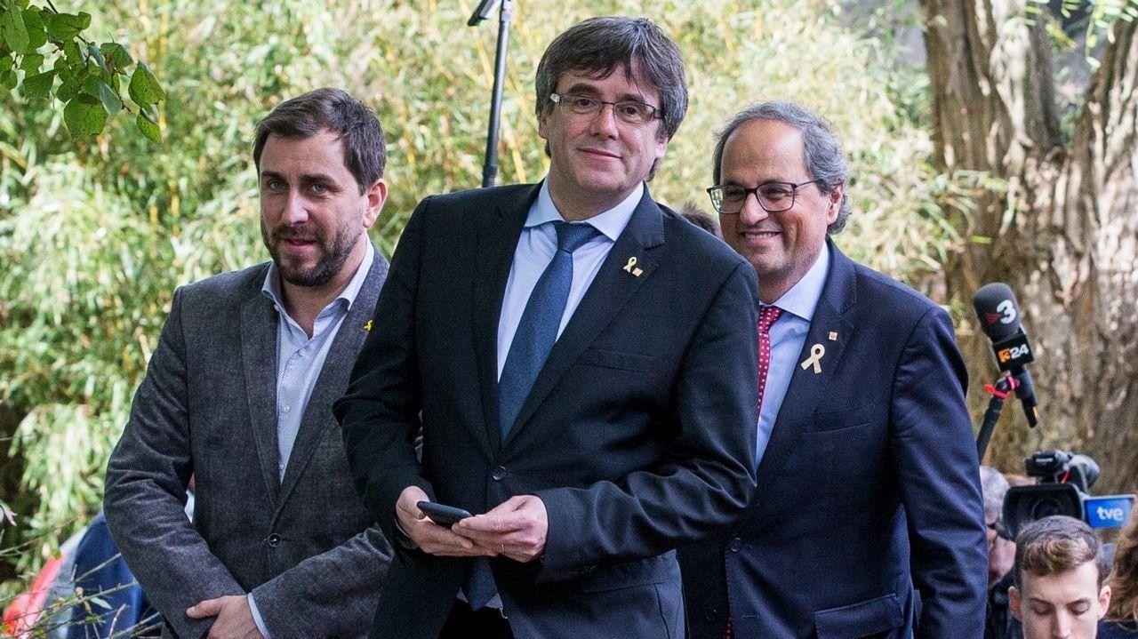 Los reyes presiden la tradicional celebración de la Pascua Militar.El viaje de Torra a Waterloo en julio pasado costó más de 13.000 euros a las arcas catalanas