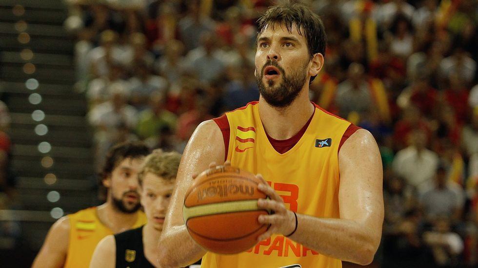 El Croacia-España, en fotos.Pau Gasol, en la concentración de la selección española