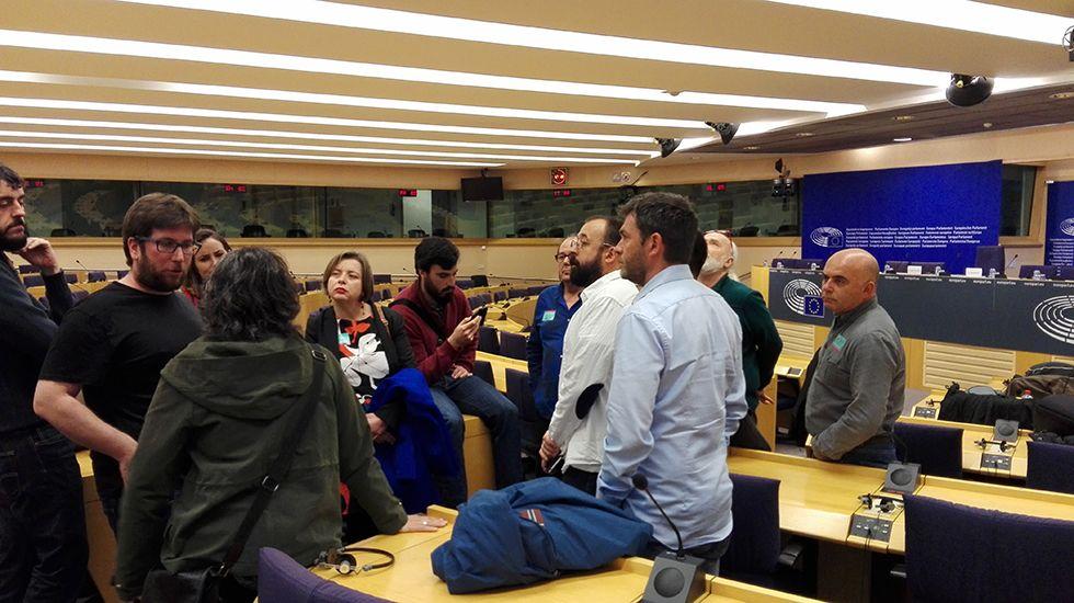Oficinas de la Renta Social Municipal en El Coto (Gijón).Ana Taboada en Bruselas