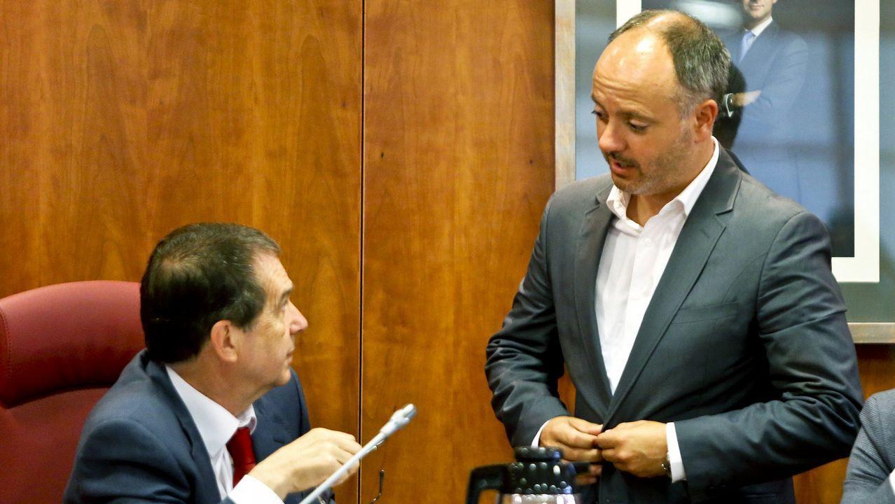 Arranca la construcción de la nueva estación de autobuses en el área ferroviaria.Alberto Núñez Feijóo participó en Santiago en un acto de entrega de certificados de experiencia profesional