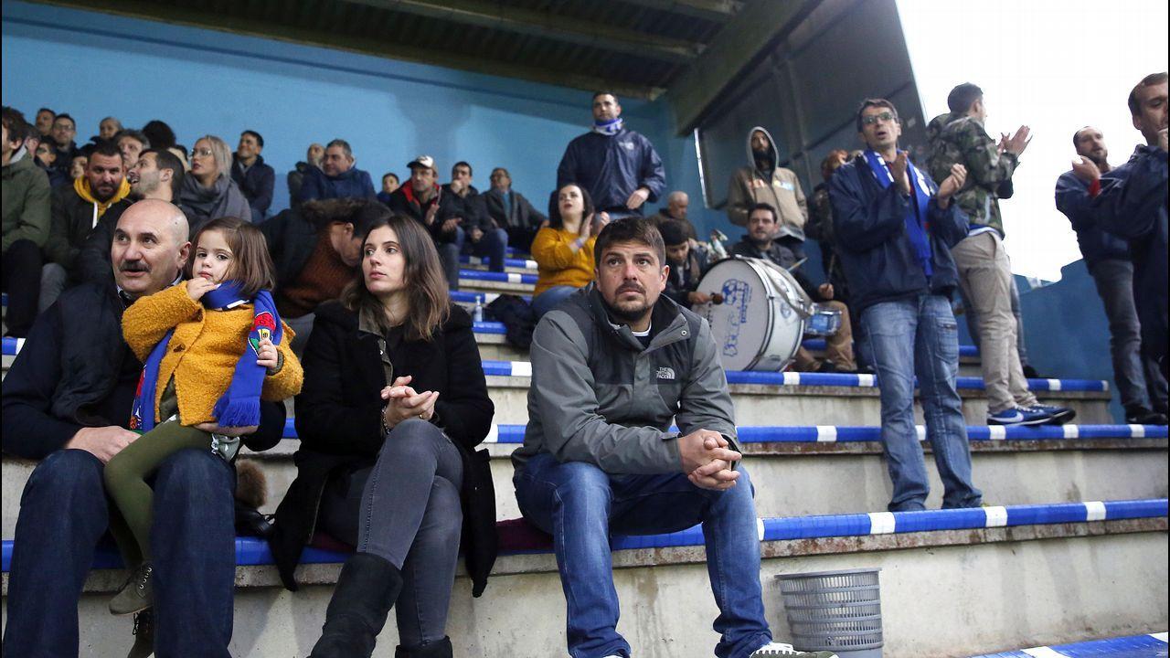 Partido entre Boiro y Rácing de Ferrol
