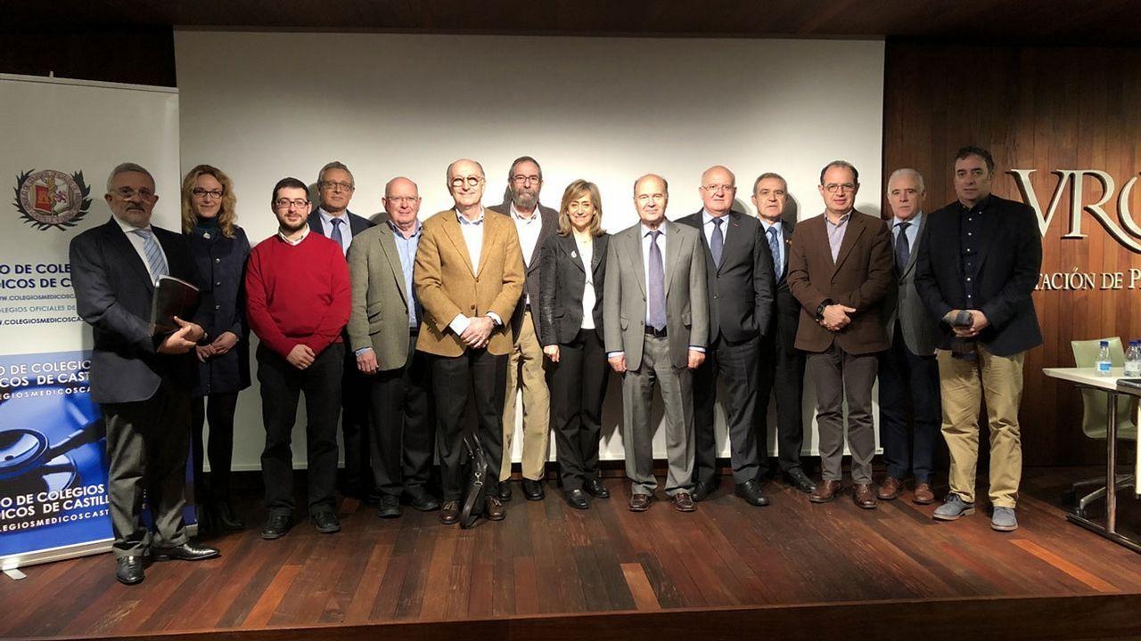 El Consejo de Colegios Médicos de Castilla y León está integrado en su mayoría por hombres
