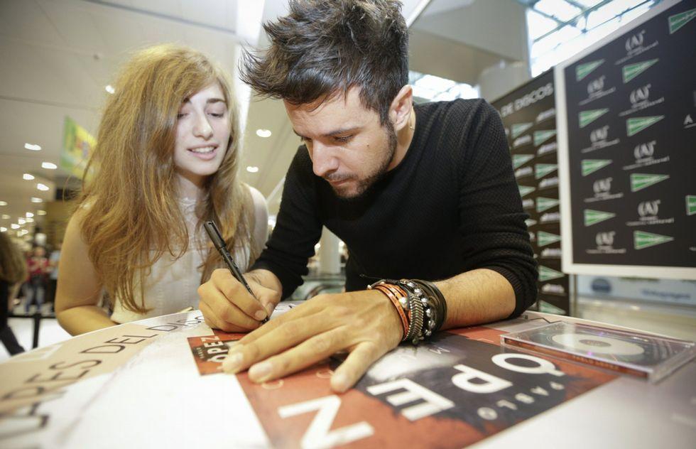 .Pablo López visitó recientemente la ciudad para realizar una firma de discos