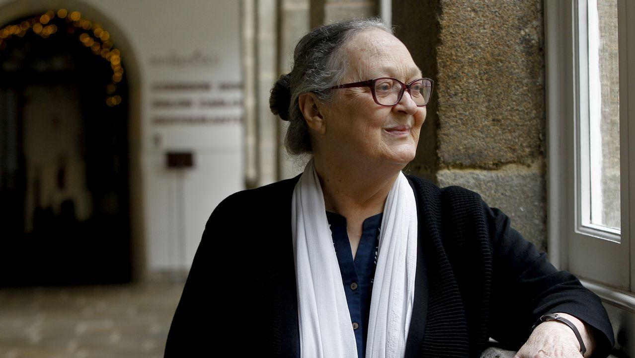 «La pobreza crea tristeza, no puedes ser feliz viendo a tu hijo llorar con dolor».Beatriz González López-Valcárcel, en una conferencia en Ourense
