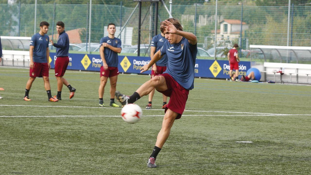 El Pontevedra CF toma aire a costa del Cerceda