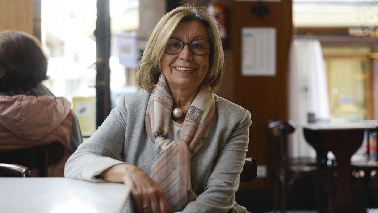 Araceli Torres, vicerrectora del campus de Ferrol
