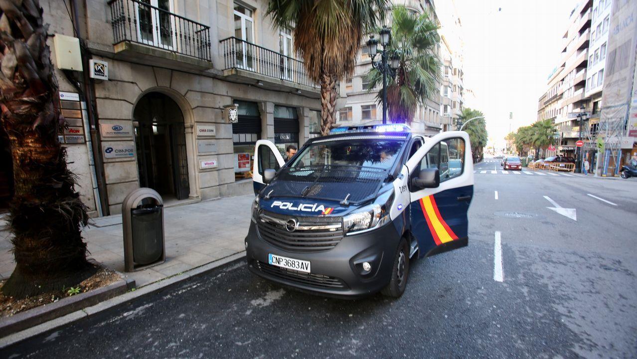 El acusado de hurtar una saca con 250.000 euros en Vigo sale libre
