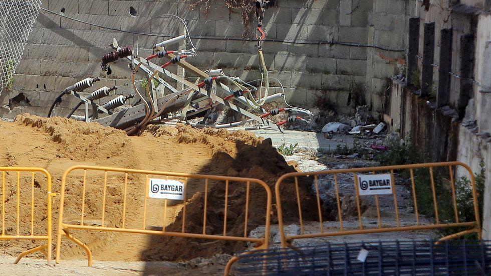 Escape de gas en Vilagarcía