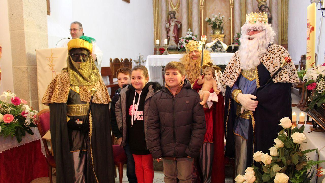 Misa de Reyes en Lampón y Posmarcos.