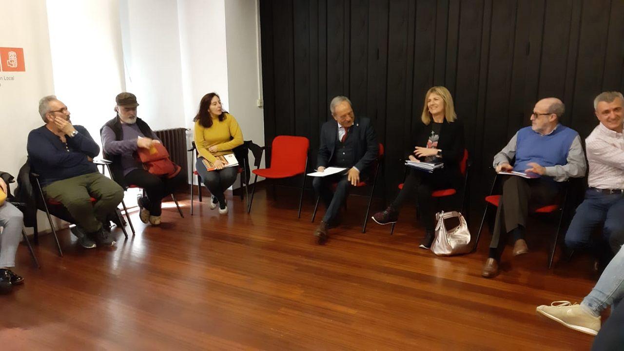 Entrevista a Ignacio Blanco (VOX).Wenceslao López se reúne con representantes del Tercer Sector