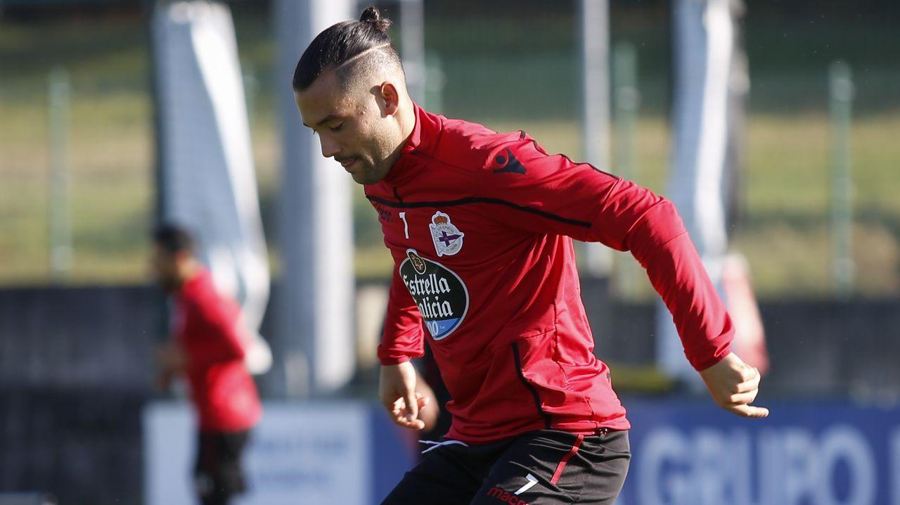 El Deportivo vuelve al trabajo pensando en Almería.Sorteo de Loteria
