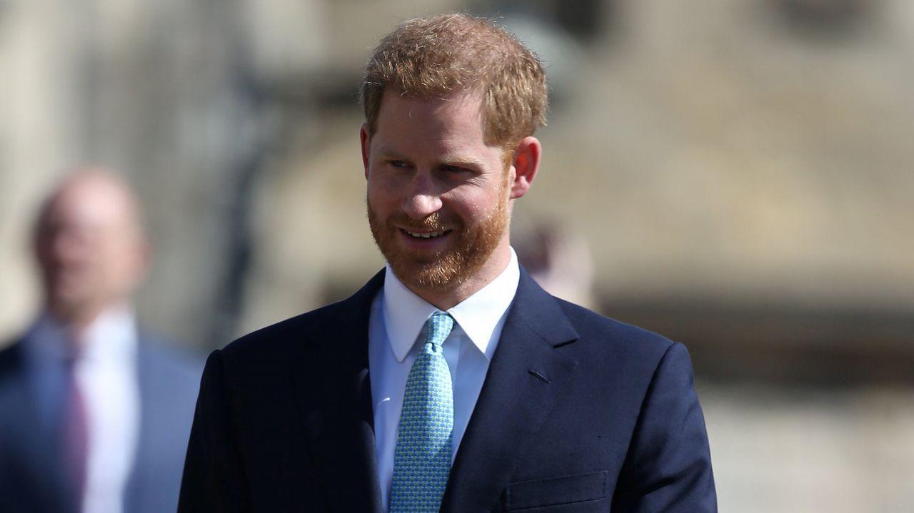 La familia real inglesa, en la misa de Pascua.El rey de Holanda también celebró su cumpleaños con su familia