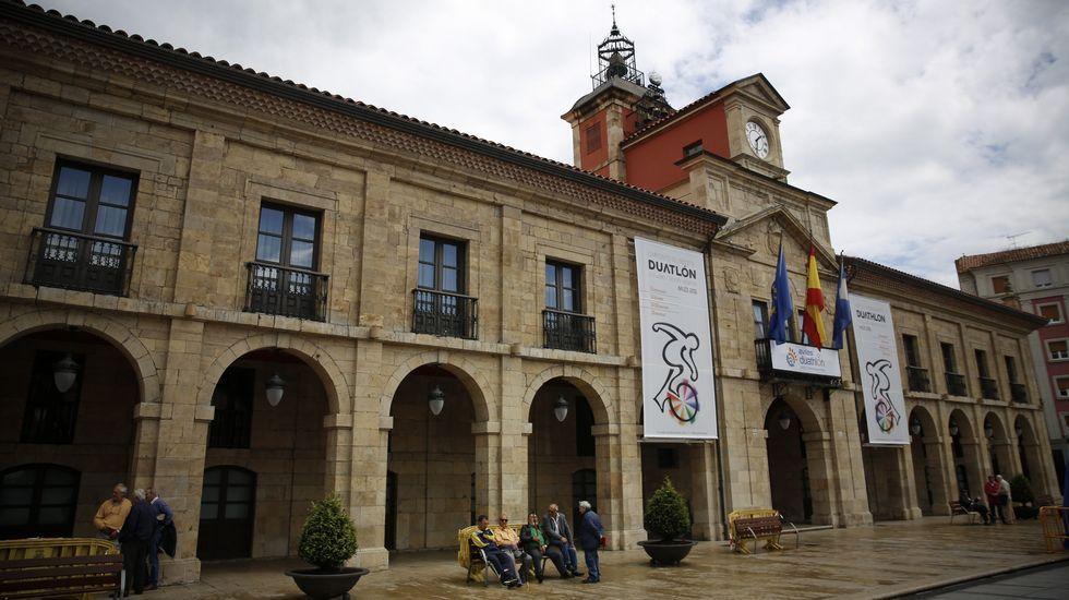 La alcaldesa de Avilés, Mariví Monteserín.Ayuntamiento de Avilés