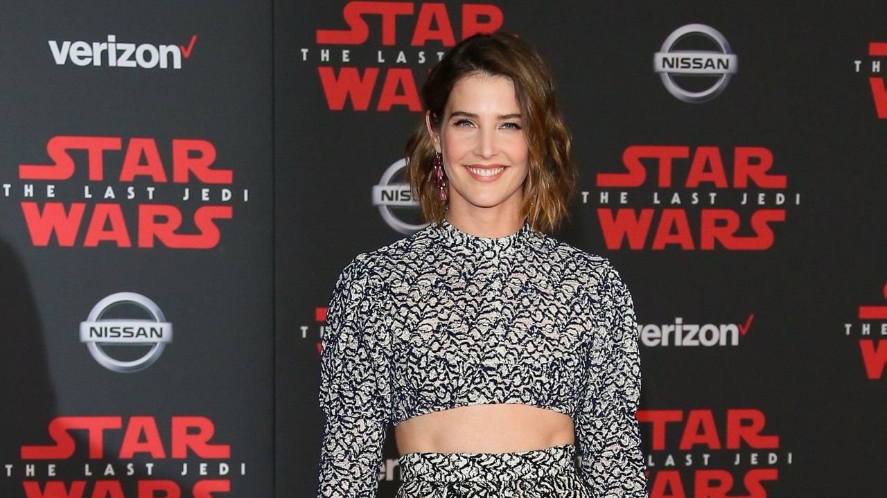 Cobie Smulders en el estreno de 'Star Wars: Los últimos Jedi'