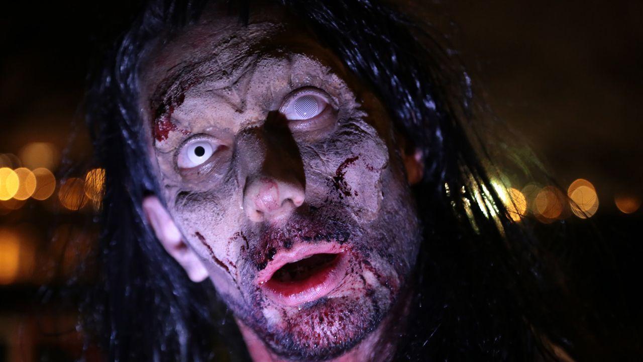 Las mejores imágenes de la ceremonia.Survival zombie