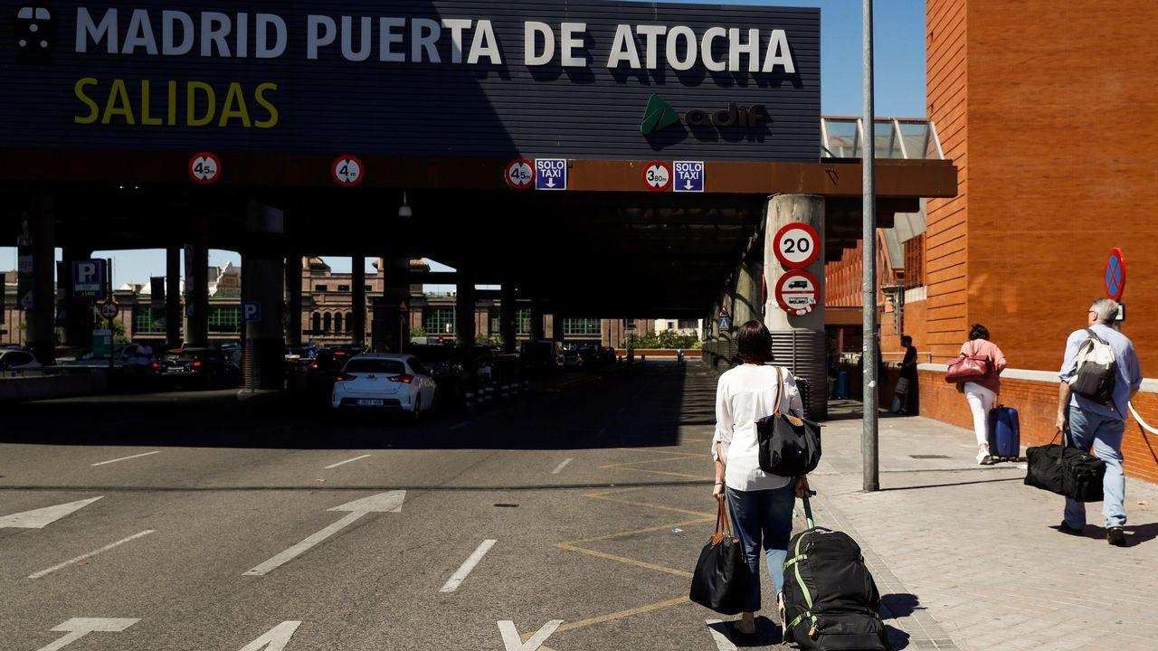 El paro de los taxistas de Madrid dejó sin servicio el aeropuerto