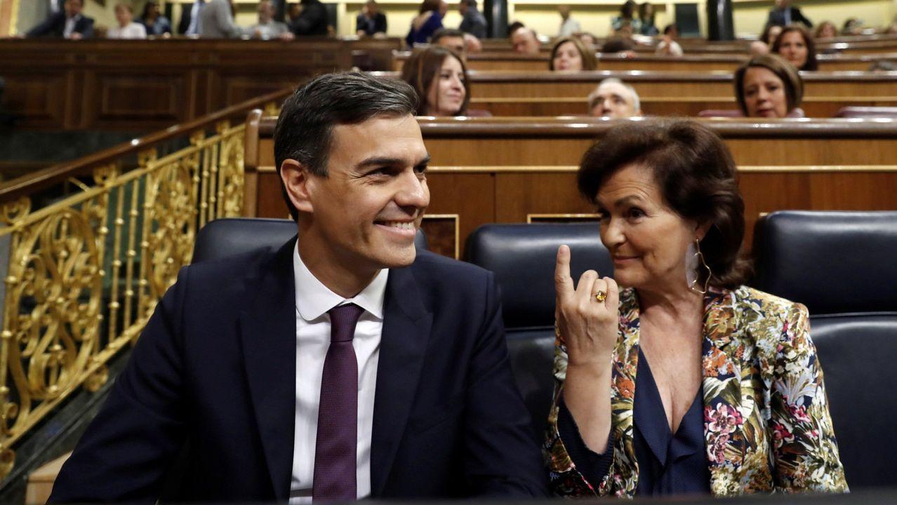 Casado acusa a Sánchez de cometer un «fraude de ley» con su maniobra para saltarse el Senado.La ministra de Hacienda, María Jesús Montero
