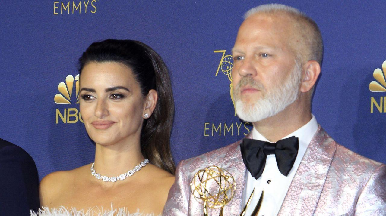 Emmy 2018: Penélope Cruz y Ryan Murphy