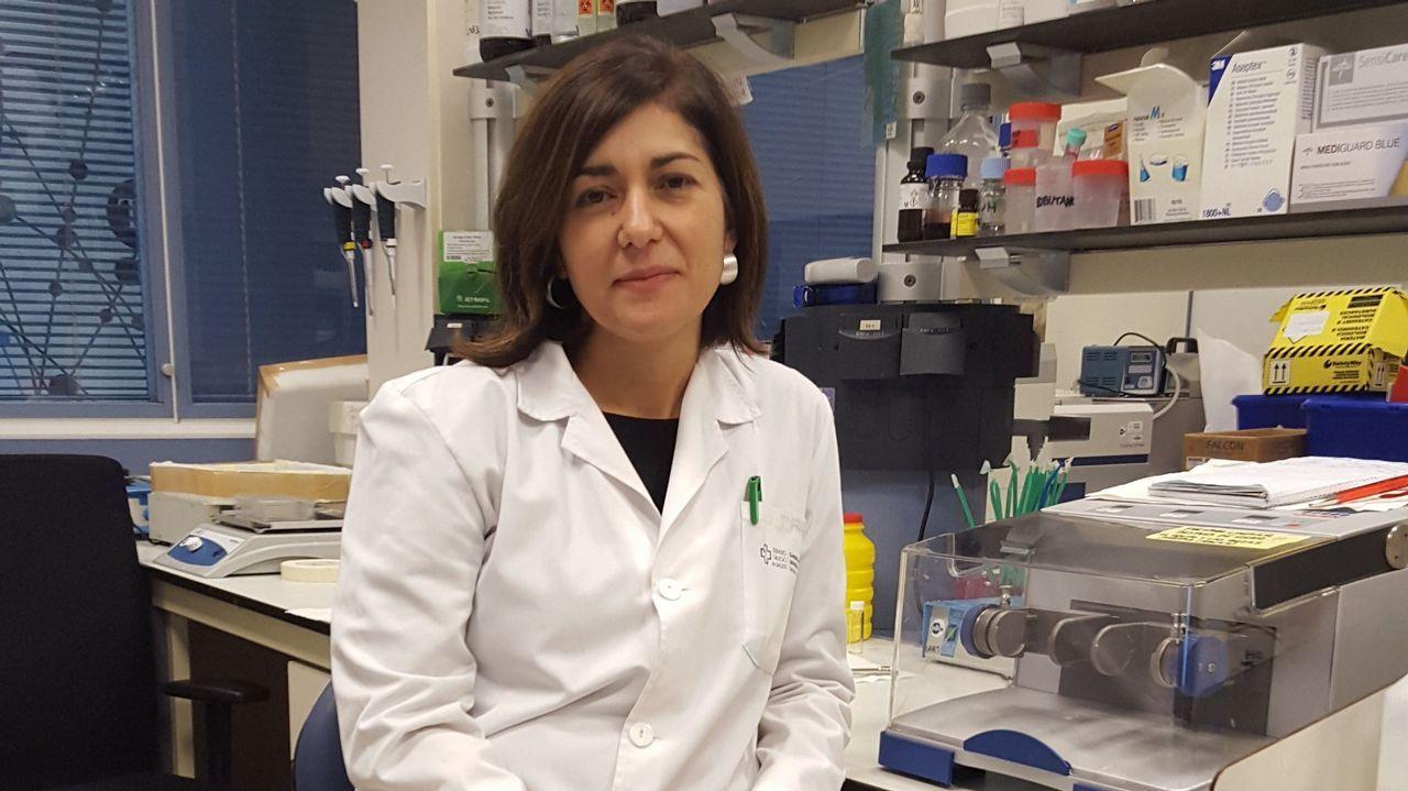 .María Pardo, responsable del grupo de Obesidómica en el IDIS de Santiago