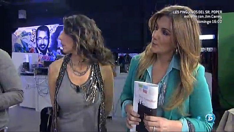 Campaña sin maquillaje.Carlota Corredera, con el suplemento «YES».